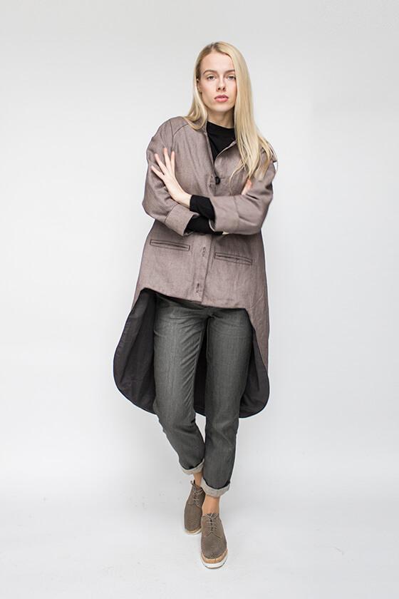 Lininiai rūbai - švarkas - LinenSheep