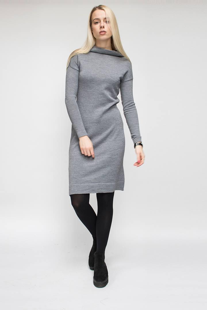 Trikotažinės suknelės - merino vilna - LinenSheep