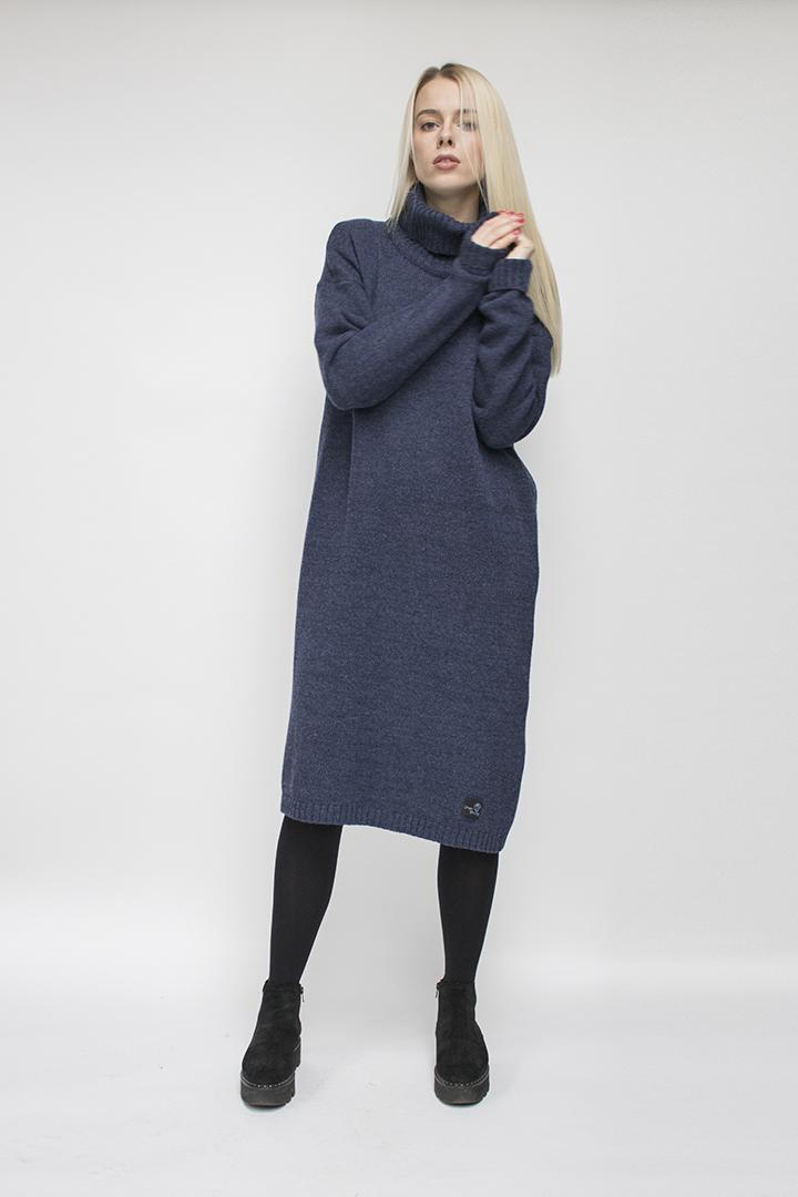 Megztos suknelės - 100% vilna - LinenSheep