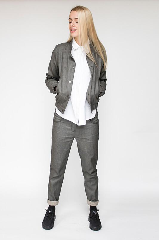 Lininiai drabužiai - švarkas - LinenSheep
