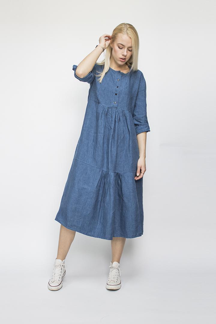 ilgos suknelės - LinenSheep