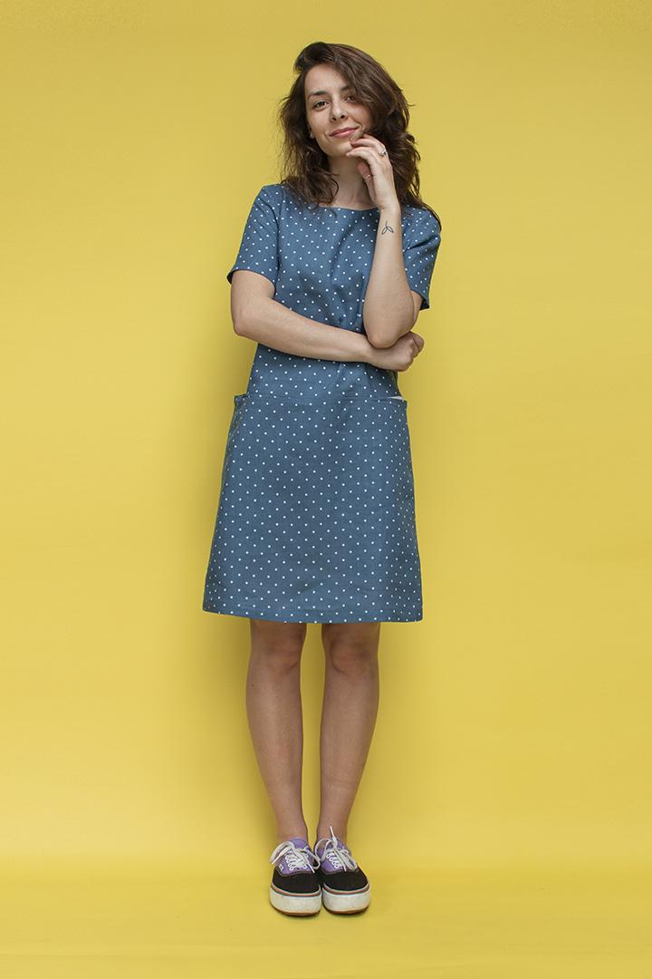 Linines suknelės vasarai