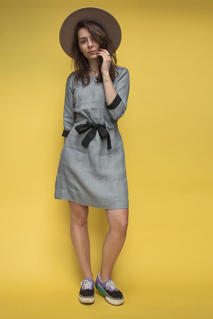 Lino suknelės