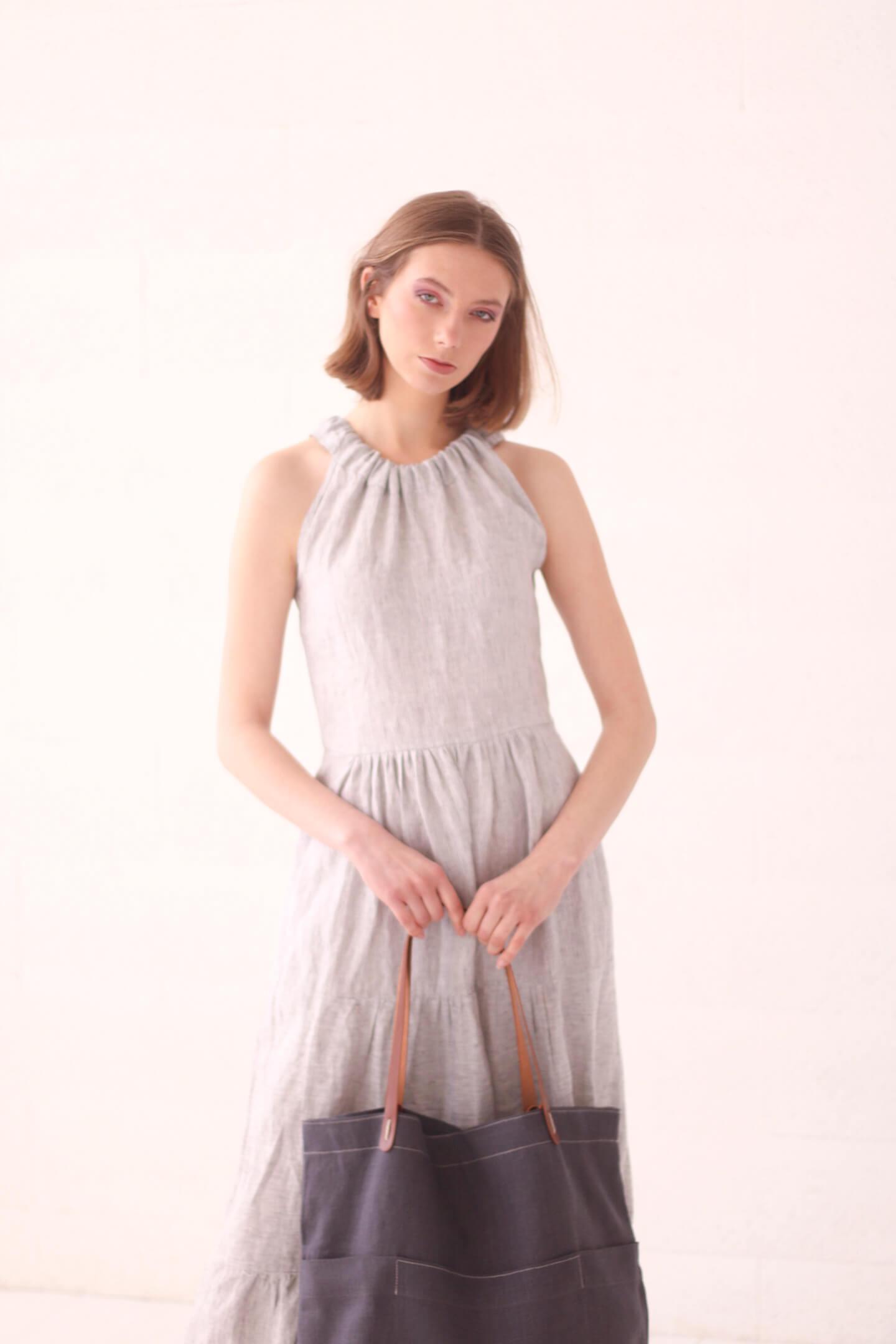 Suknelė ir krepšys